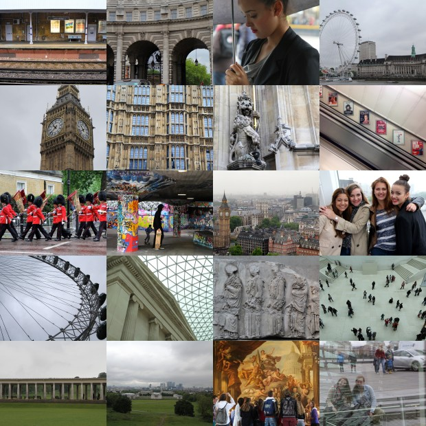 Londen collage